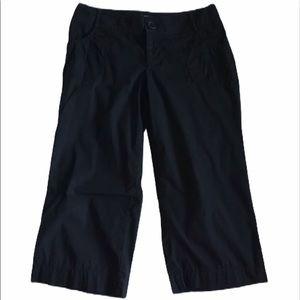 Mossimo Black Capri Pants 8